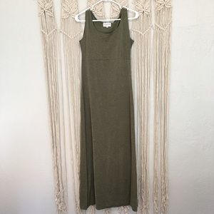 CLOSET CLEAN OUT! ELEVATIONS Forest Green Dress
